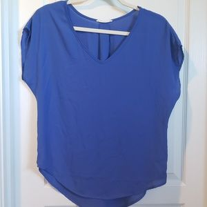 Lush royal v neck top - XS